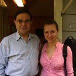 Prof. Gerardo Ribeiro and Anna